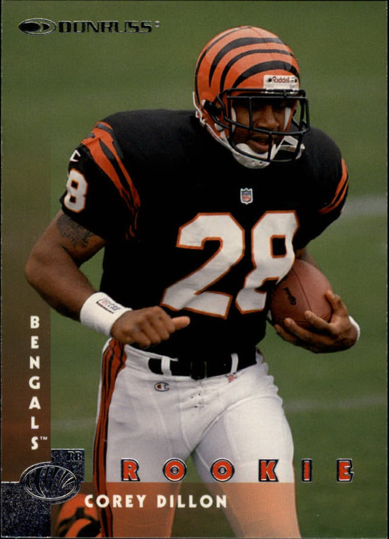 1997 Donruss #209 Corey Dillon RC