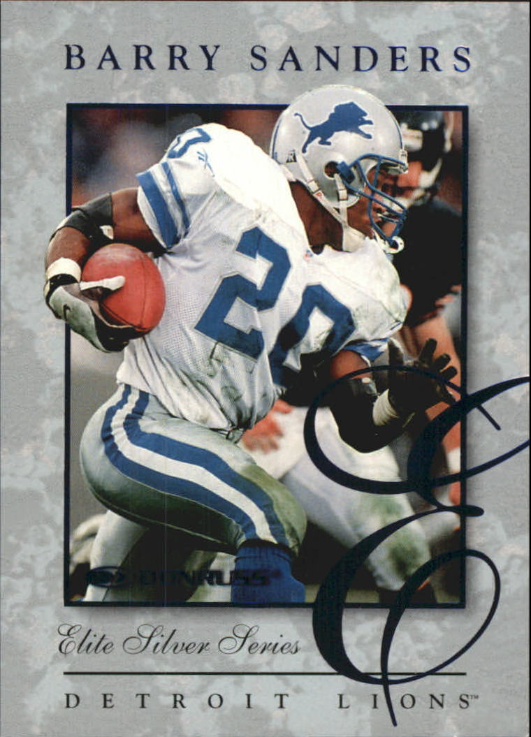 1997 Donruss Elite #6 Barry Sanders