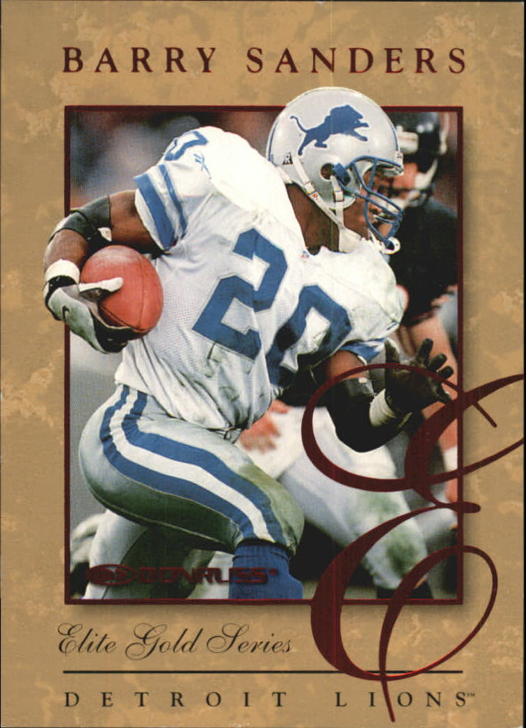 1997 Donruss Elite Gold #6 Barry Sanders