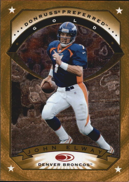 1997 Donruss Preferred #34 John Elway G