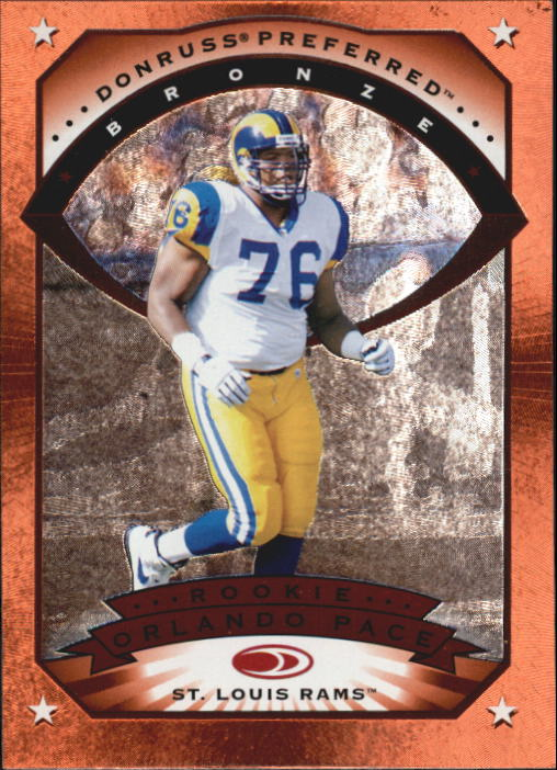 1997 Donruss Preferred #115 Orlando Pace B RC