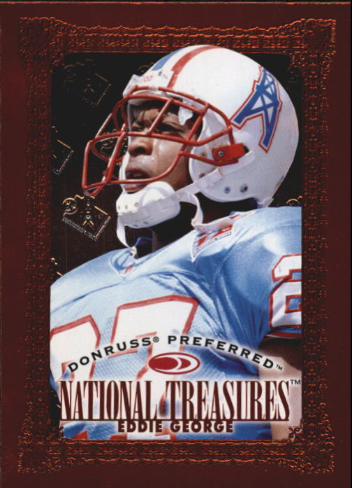 1997 Donruss Preferred #125 Eddie George NT B