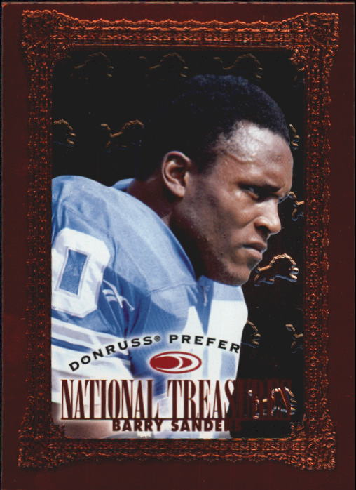 1997 Donruss Preferred #134 Barry Sanders NT B