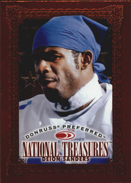 1997 Donruss Preferred #135 Deion Sanders NT B