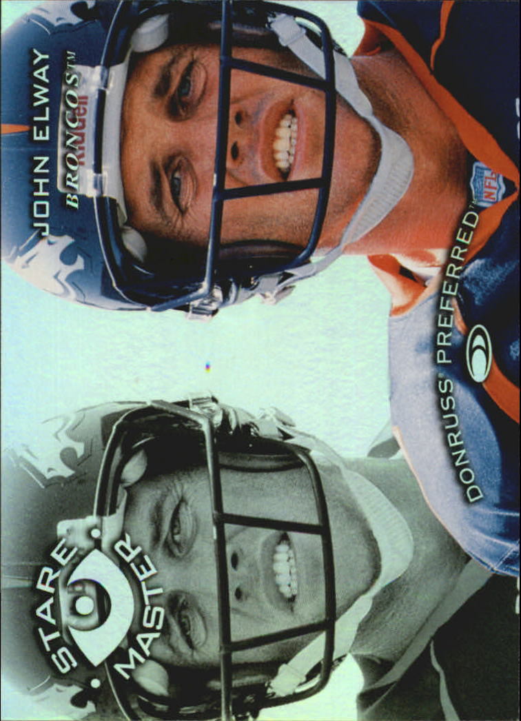 1997 Donruss Preferred Staremasters #19 John Elway