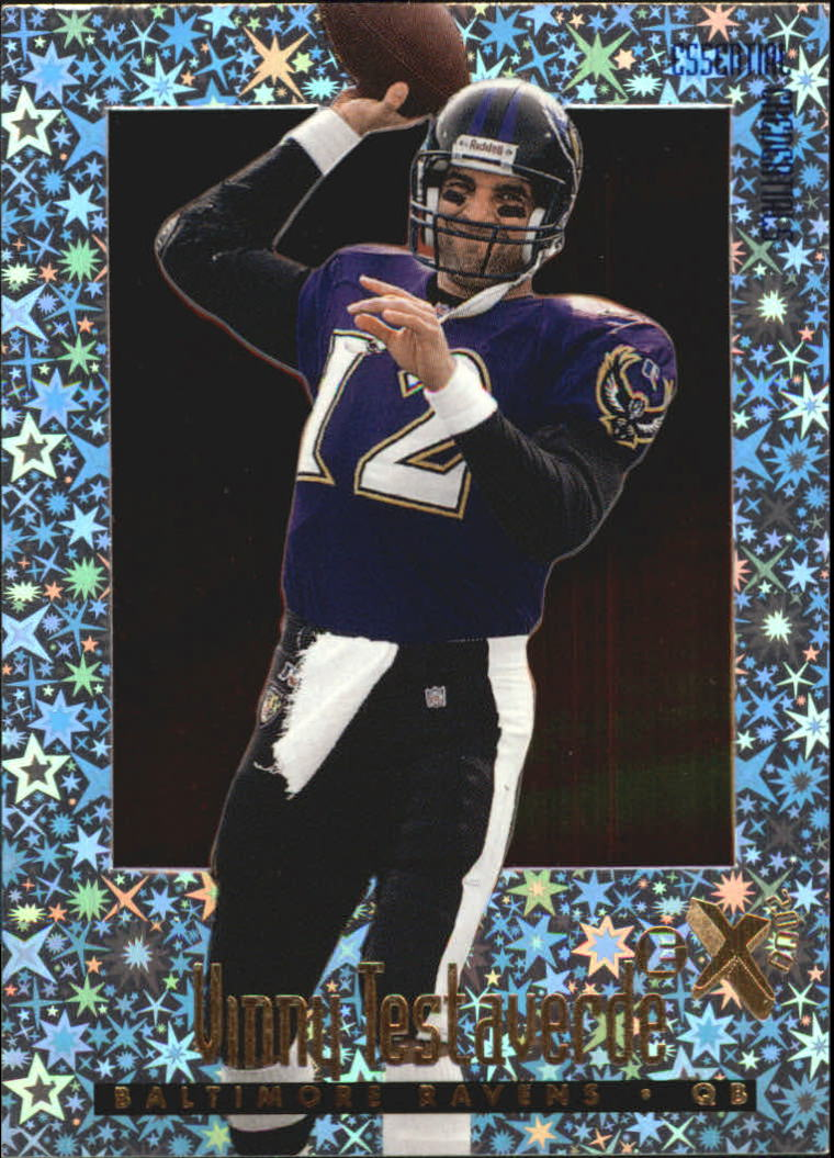 1997 E-X2000 Essential Credentials #33 Vinny Testaverde