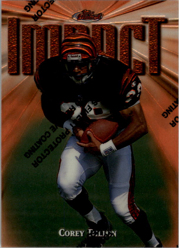 1997 Finest #176 Corey Dillon B RC