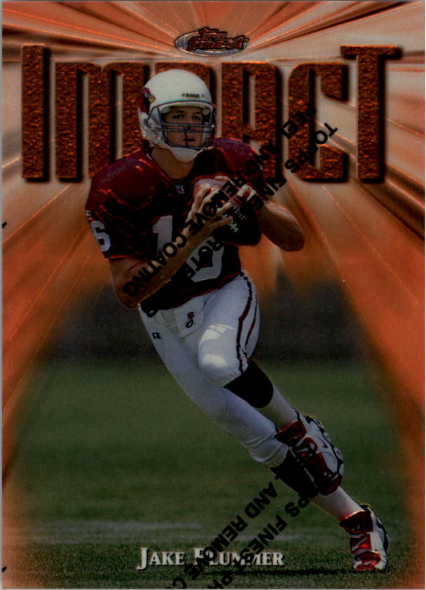 1997 Finest #234 Jake Plummer B RC