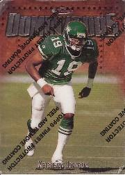 1997 Finest #239 Keyshawn Johnson B