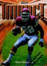 1997 Finest #269 Tony Gonzalez B RC