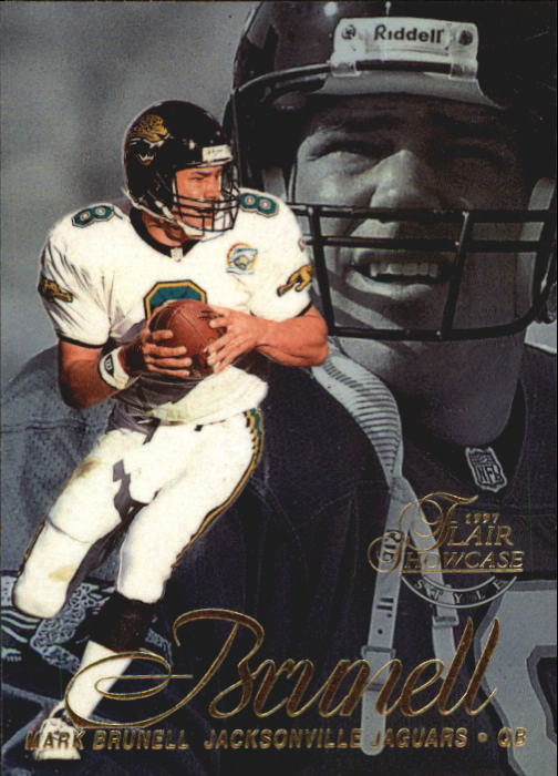 1997 Flair Showcase Row 2 #2 Mark Brunell