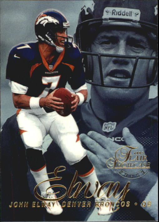 1997 Flair Showcase Row 2 #7 John Elway