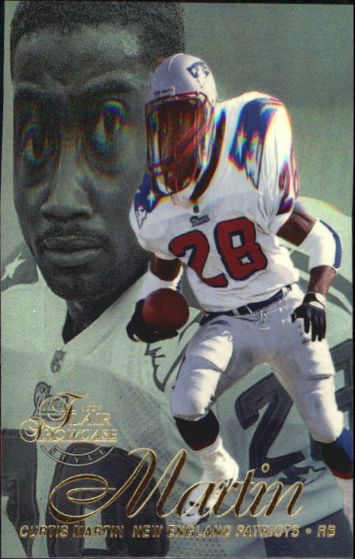 1997 Flair Showcase Row 2 #28 Curtis Martin