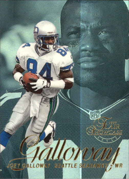 1997 Flair Showcase Row 2 #48 Joey Galloway