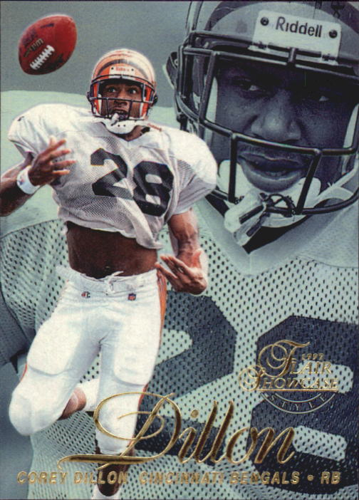 1997 Flair Showcase Row 2 #79 Corey Dillon RC