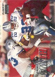 1997 Fleer Crystal Silver #22 Emmitt Smith