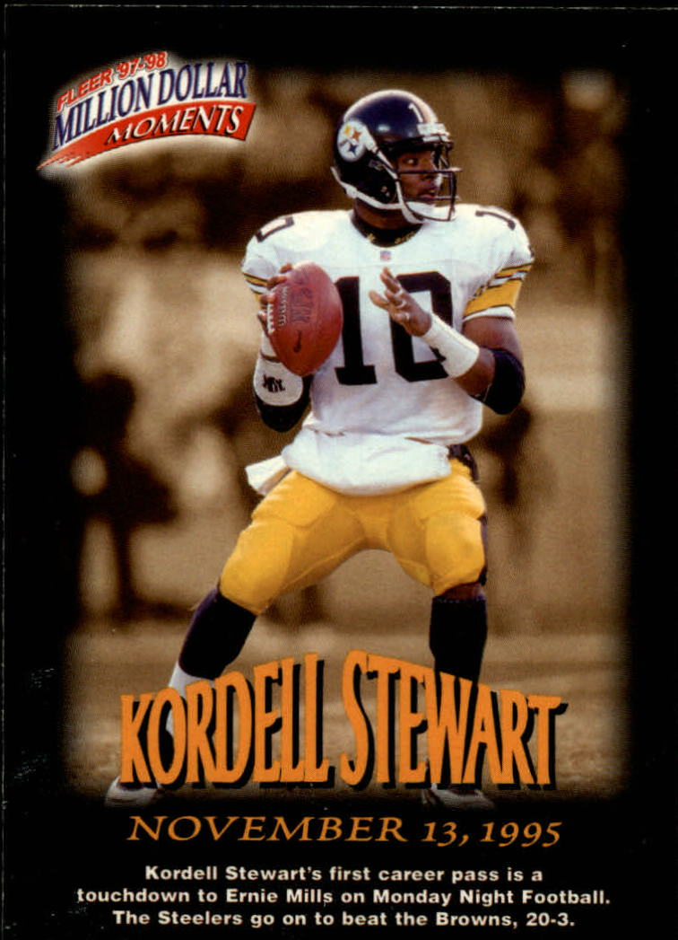 1997 Fleer Million Dollar Moments #44 Kordell Stewart