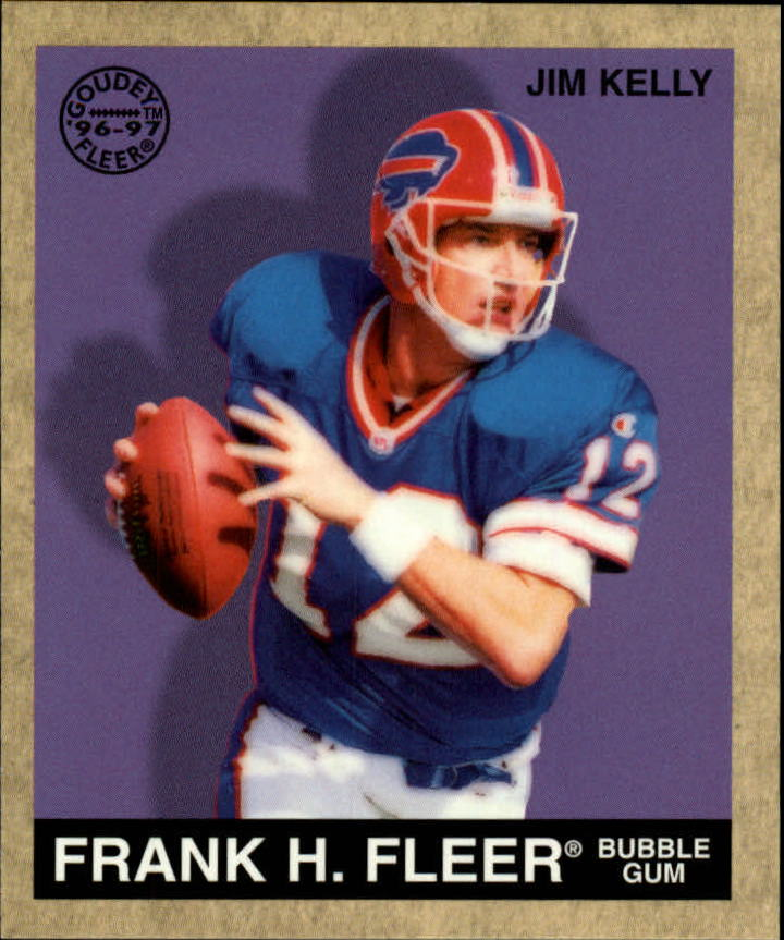 1997 Fleer Goudey #5 Jim Kelly