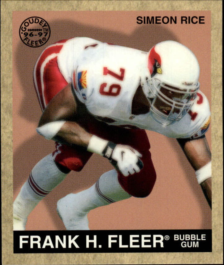 1997 Fleer Goudey #75 Simeon Rice