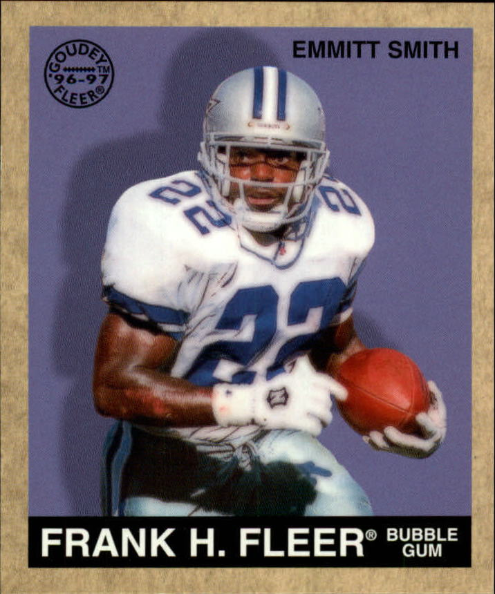 1997 Fleer Goudey #97 Emmitt Smith