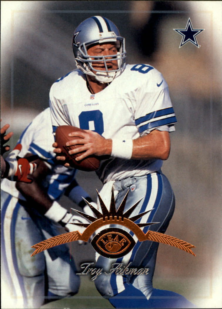 1997 Leaf #5 Troy Aikman