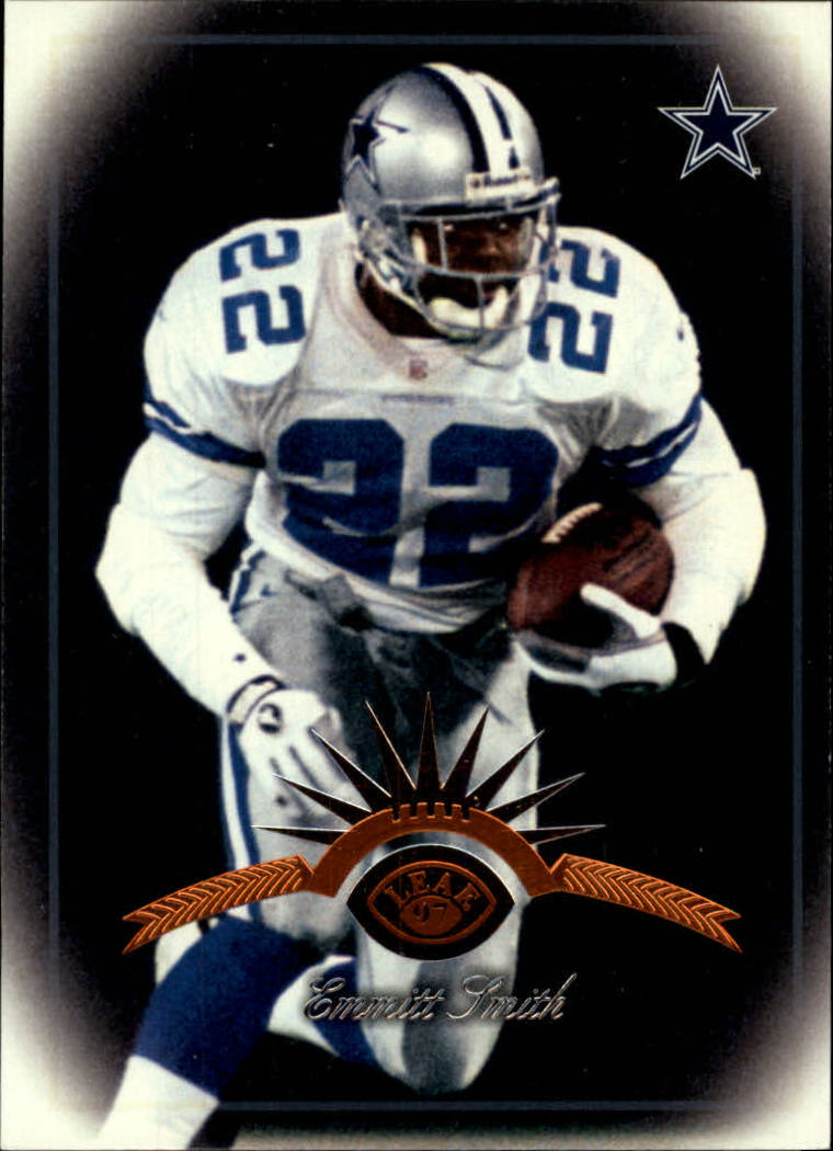 1997 Leaf #10 Emmitt Smith front image