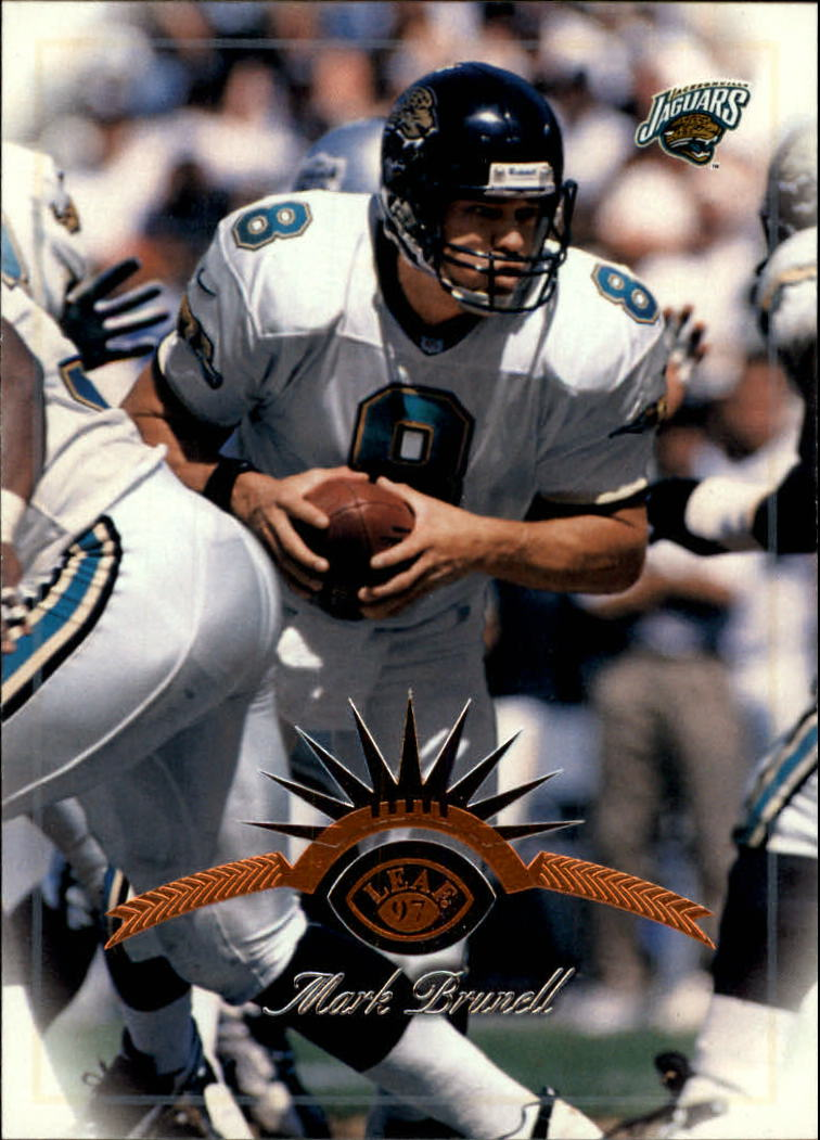 1997 Leaf #64 Mark Brunell