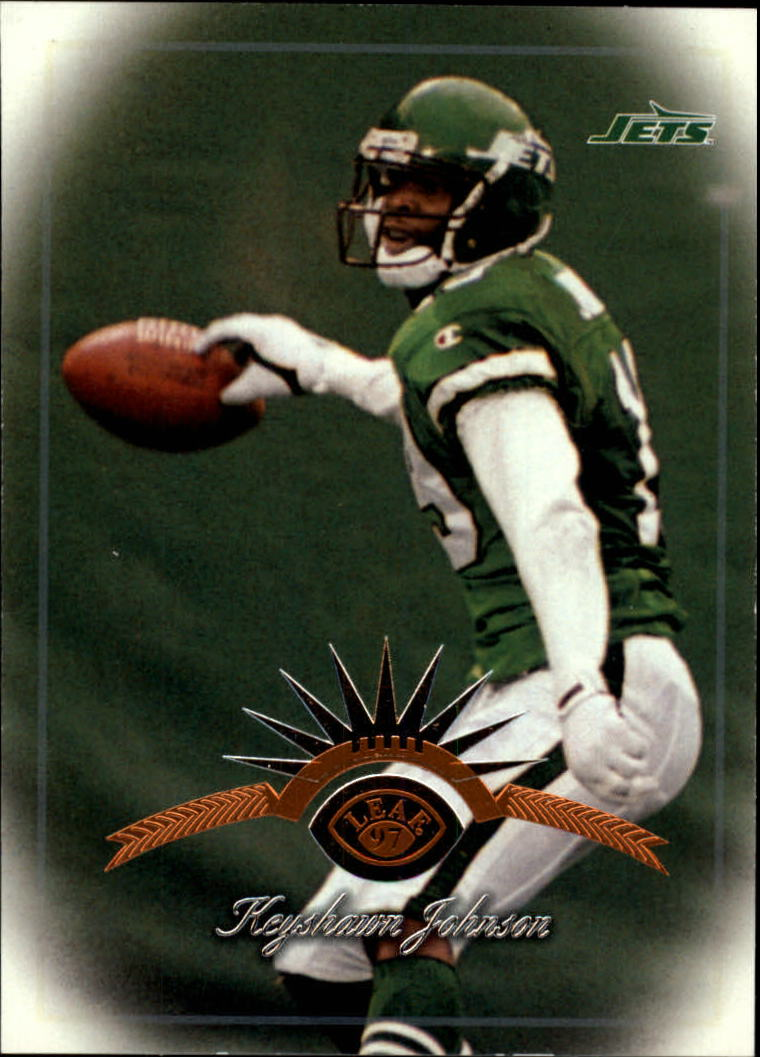 1997 Leaf #122 Keyshawn Johnson