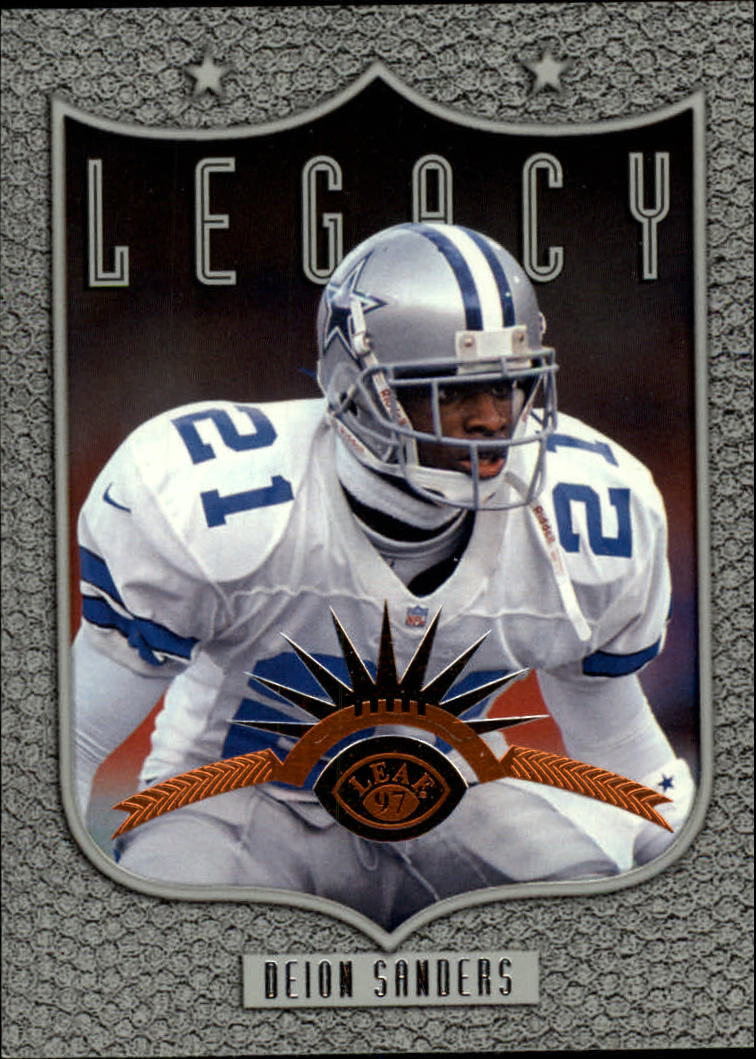 1997 Leaf #191 Deion Sanders L