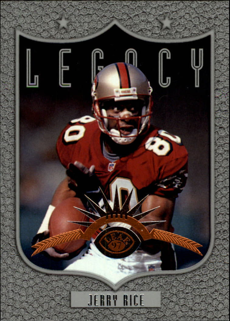 1997 Leaf #193 Jerry Rice L