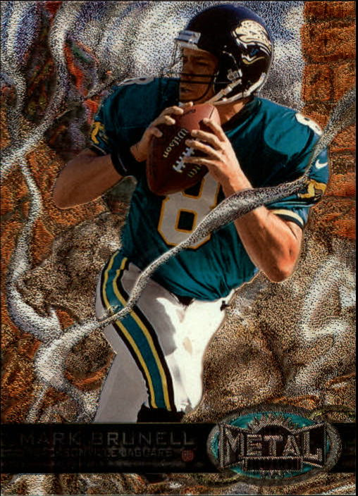 1997 Metal Universe #64 Mark Brunell
