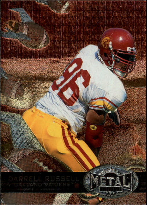 1997 Metal Universe #176 Darrell Russell RC