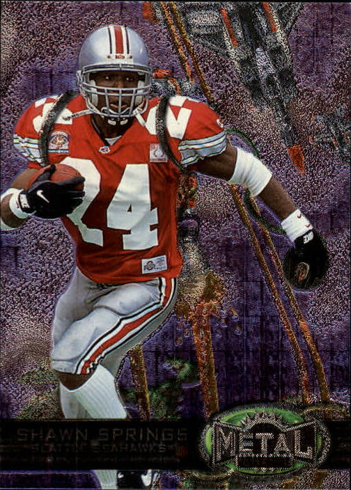 1997 Metal Universe #178 Shawn Springs RC