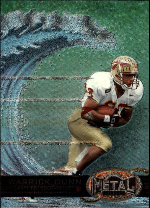 1997 Metal Universe #189 Warrick Dunn RC