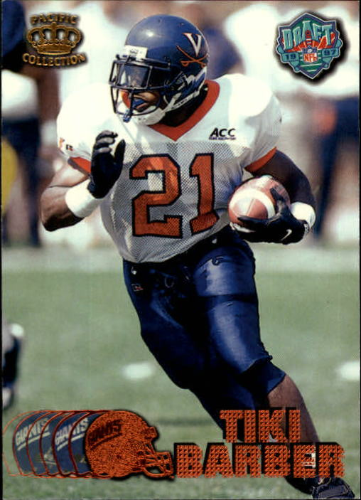 1997 Pacific Copper #423 Tiki Barber front image