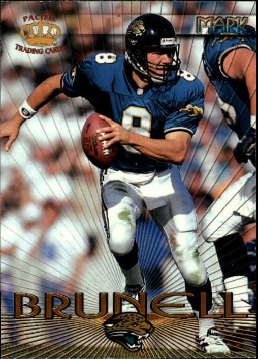 1997 Pacific Mark Brunell #8 Mark Brunell