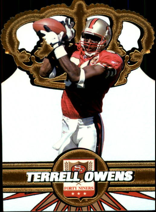1997 Pacific Gold Crown Die Cuts #30 Terrell Owens