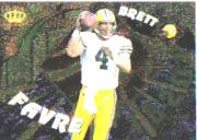 1997 Pacific Dynagon Player of the Week #13 Brett Favre
