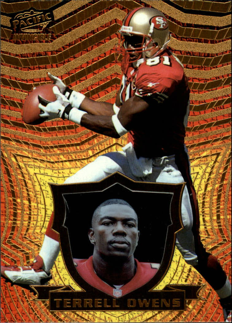 1997 Pacific Invincible #132 Terrell Owens