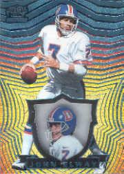 1997 Pacific Invincible Platinum Blue #44 John Elway front image