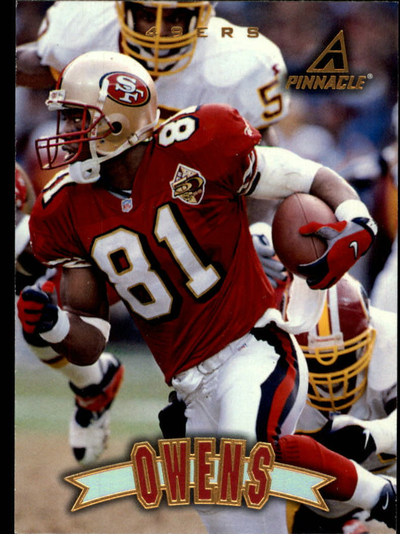 1997 Pinnacle #24 Terrell Owens
