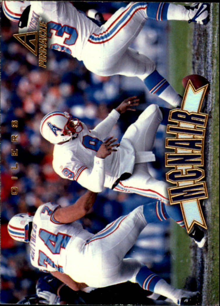 1997 Pinnacle #64 Steve McNair