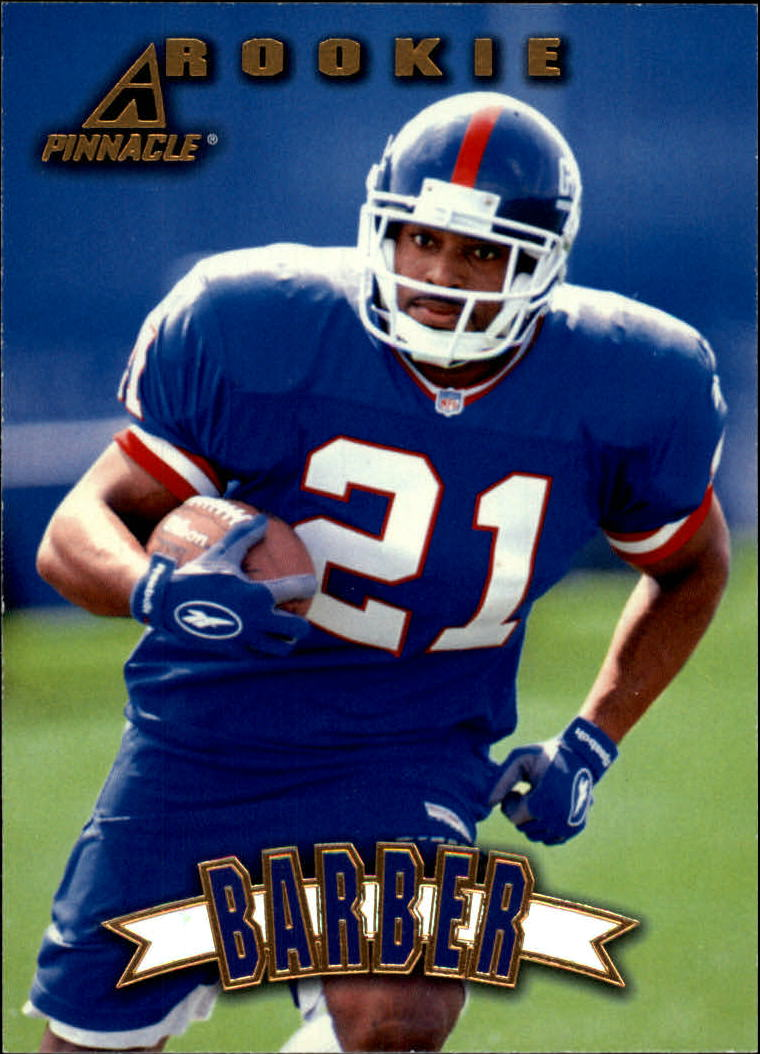 1997 Pinnacle #153 Tiki Barber RC