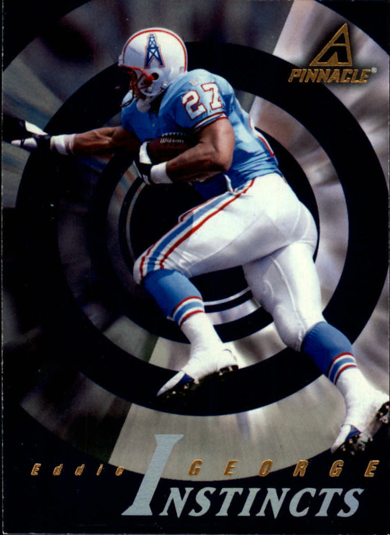 1997 Pinnacle #189 Eddie George I