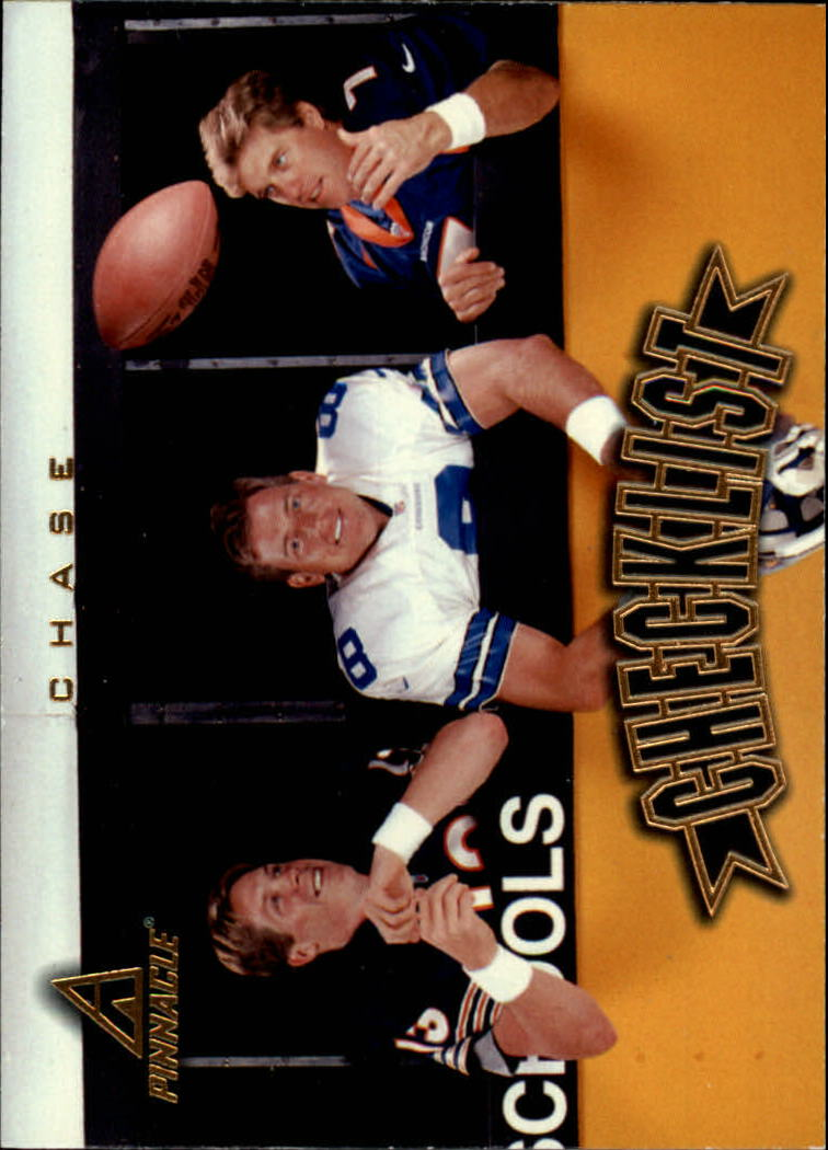 1997 Pinnacle #200 Aikman/Elway/Mirer CL