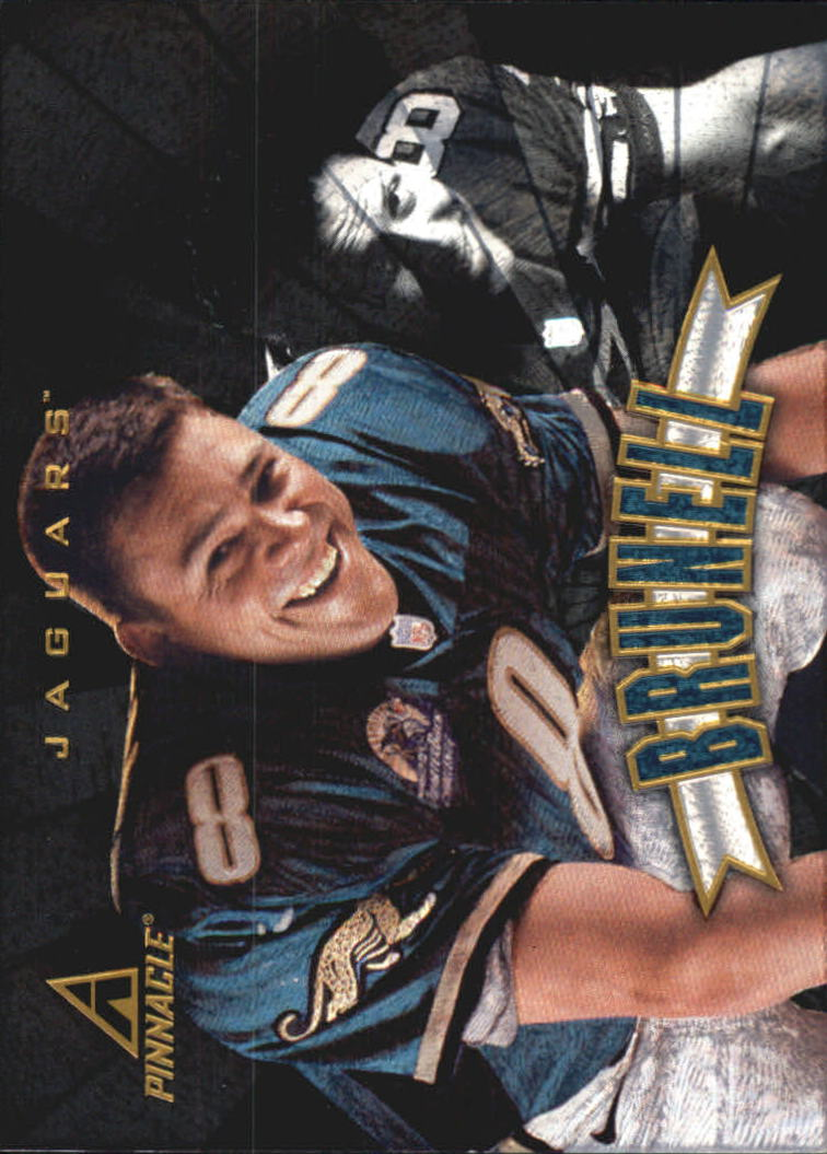 1997 Pinnacle Trophy Collection #P35 Mark Brunell