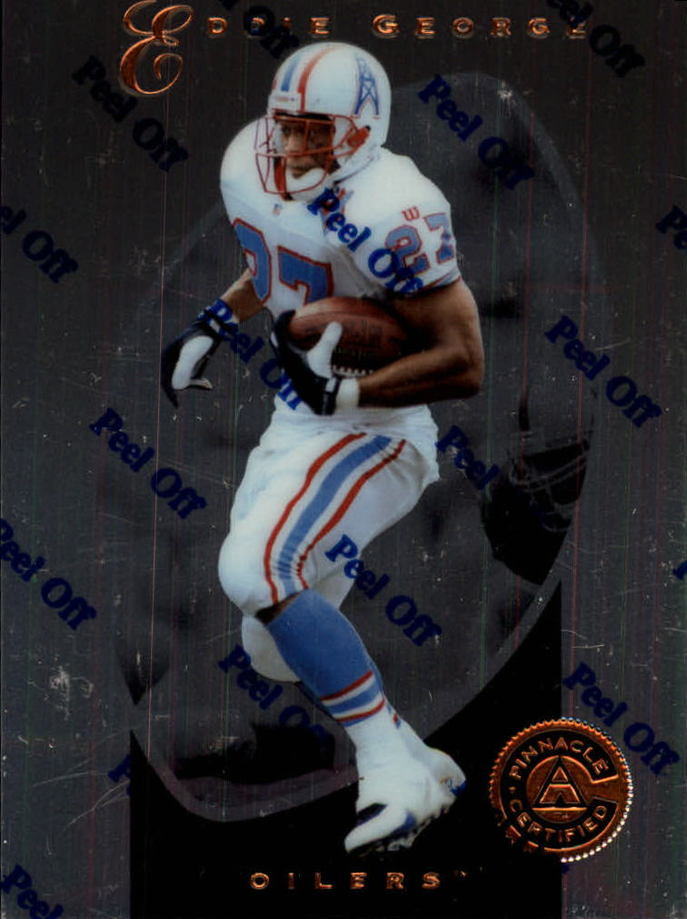 1997 Pinnacle Certified #8 Eddie George