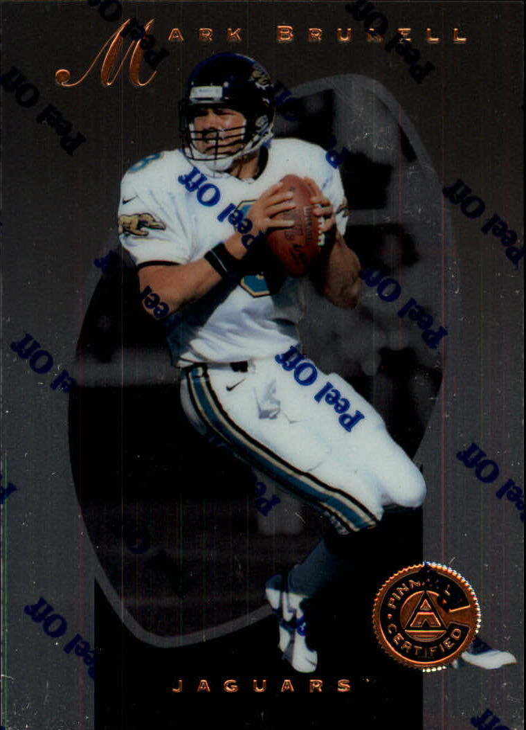 1997 Pinnacle Certified #12 Mark Brunell