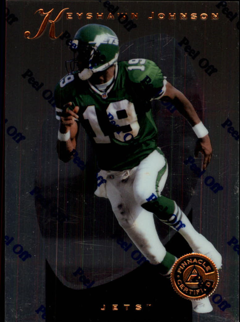 1997 Pinnacle Certified #22 Keyshawn Johnson
