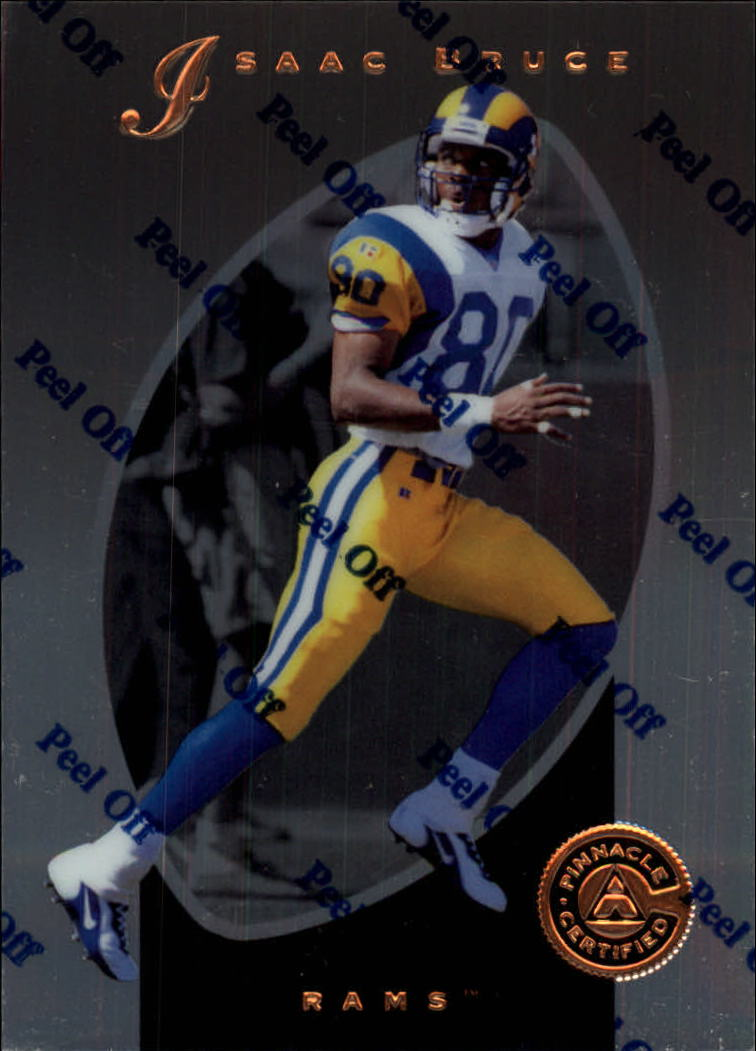 1997 Pinnacle Certified #29 Isaac Bruce